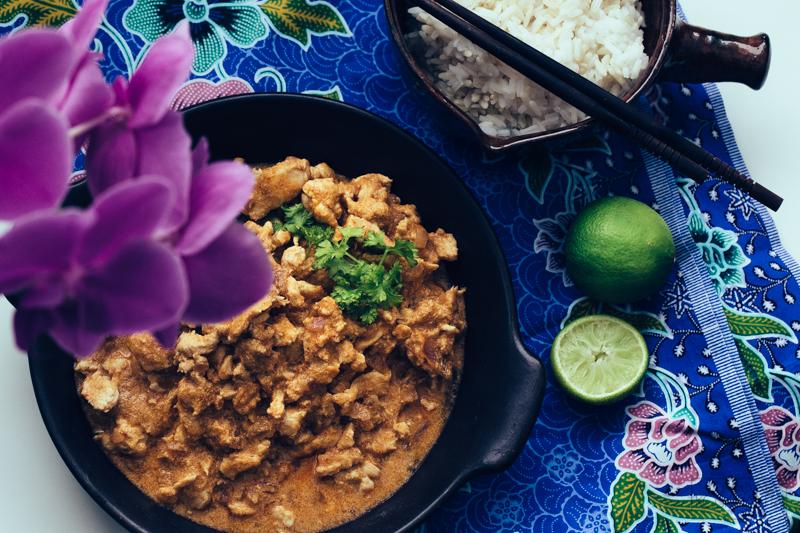 Kanaa panang curry