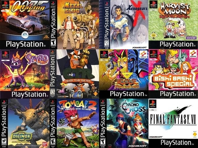 Download 20 The best Games PS1 epsxe iso for Android