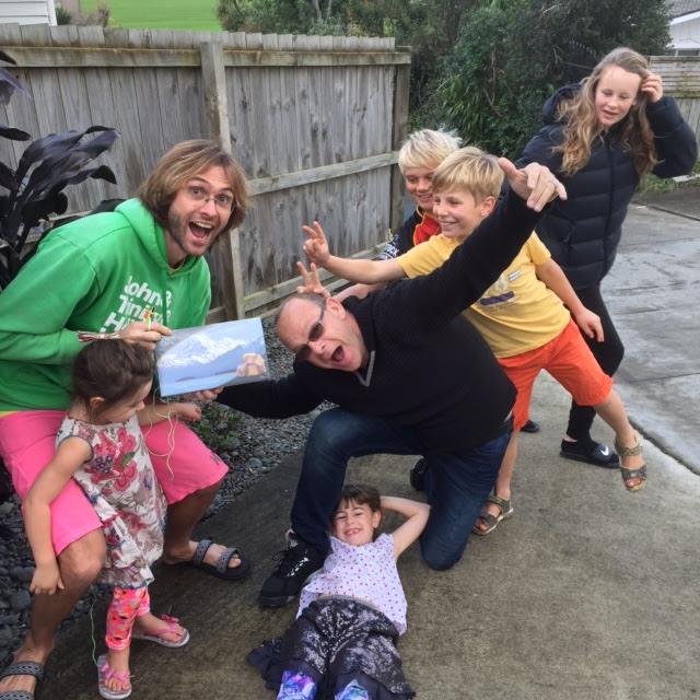 Ett fantastiskt midsommarfirande med våra kiwivänner