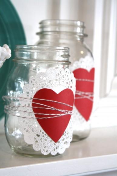 Valentines Mason Jars
