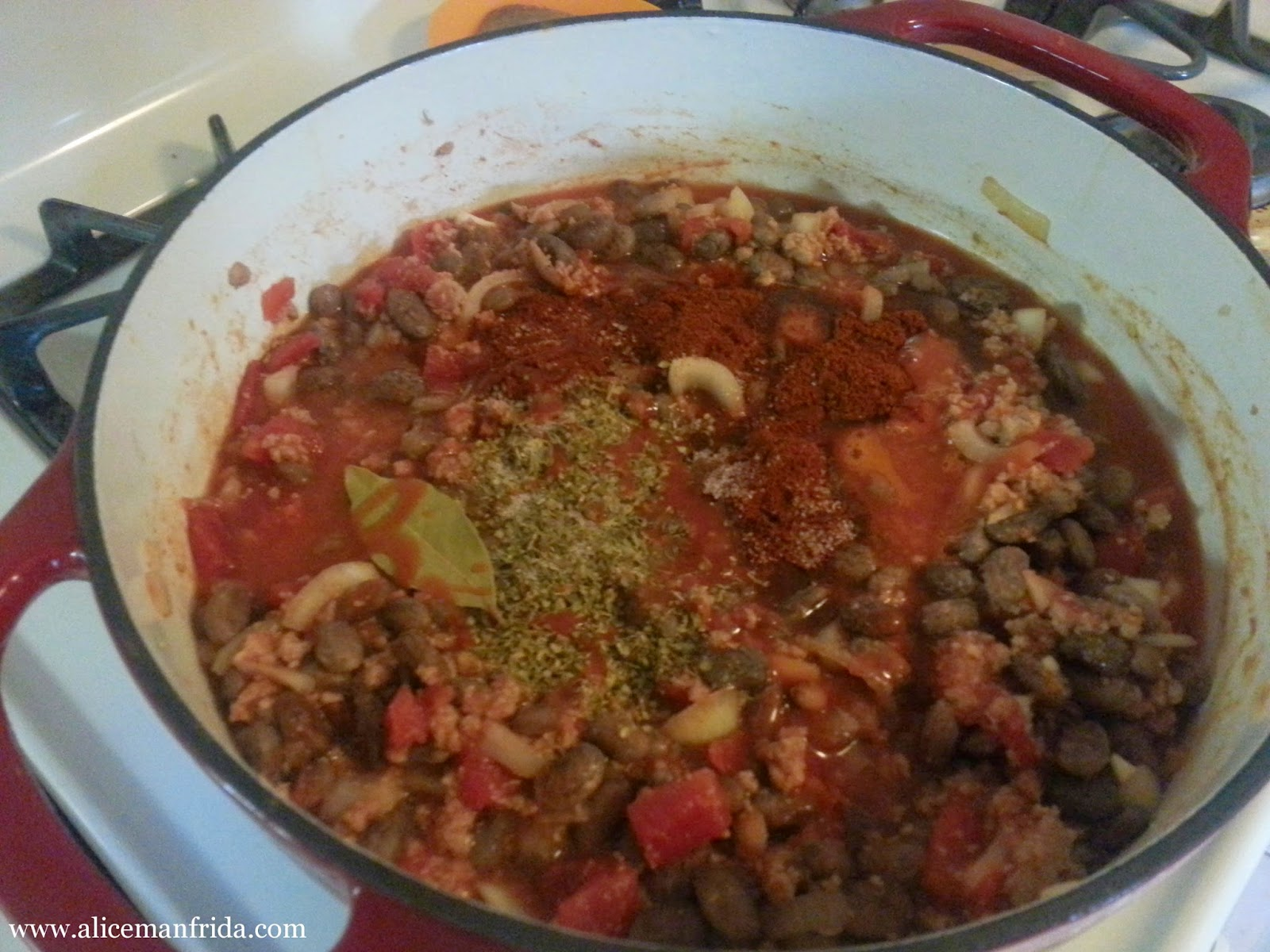 one pot meal, chili, turkey, beans, dinner