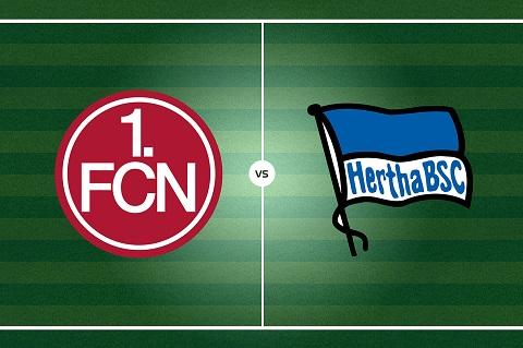 Hertha Berlin với Nurnbergm tổng cộng có 42 cuộc chạm trán