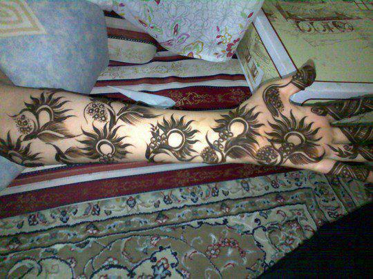 Mehandi Designing - The Great Art of India