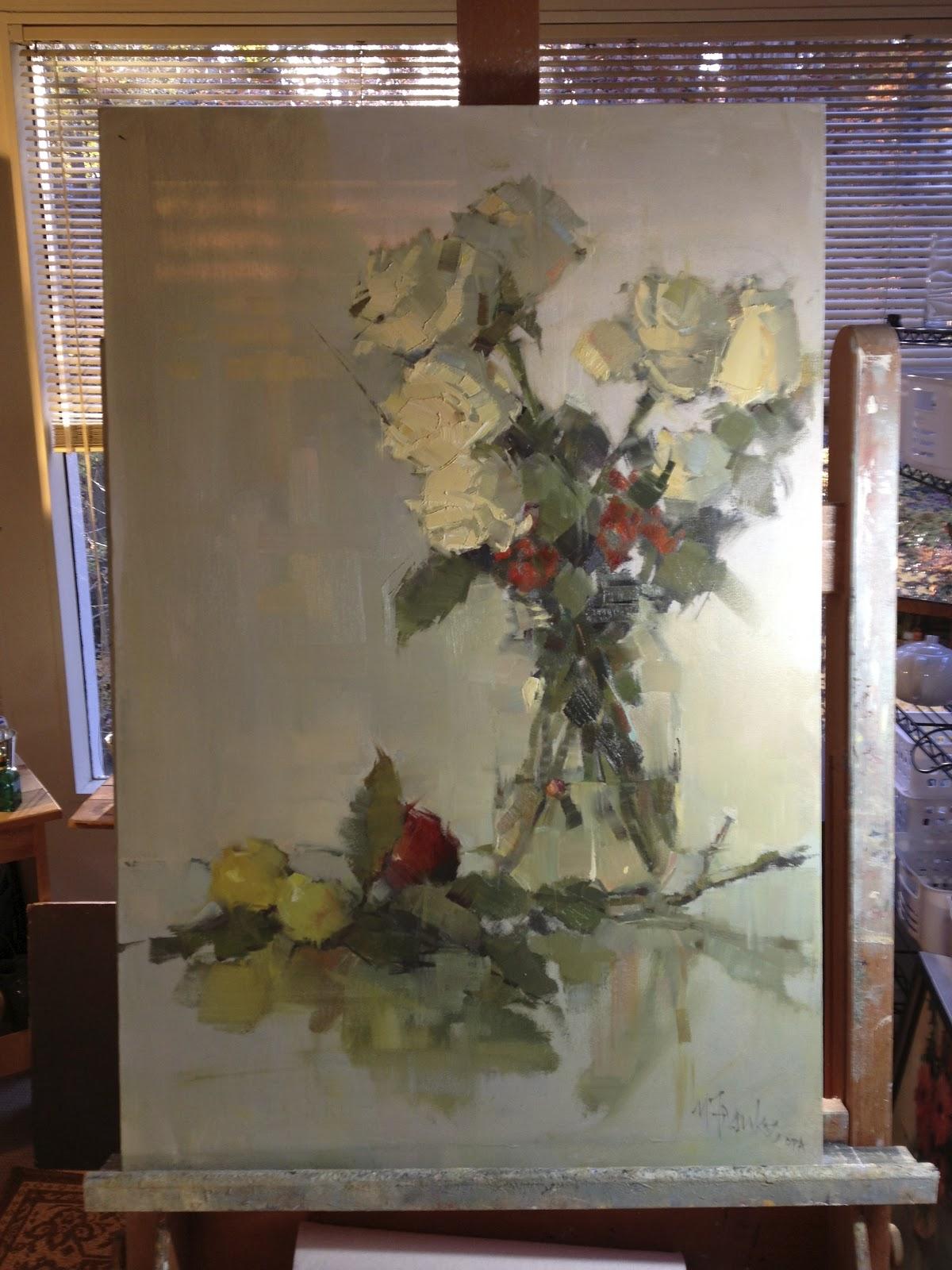 Nancy Franke Musings On Painting November 2012