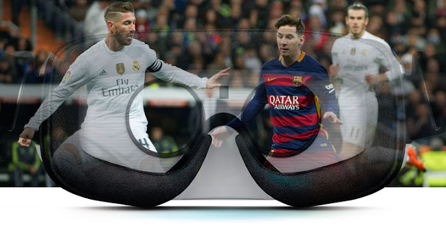 Live Barcelona FC - Real Madrid with your Samsung Gear VR