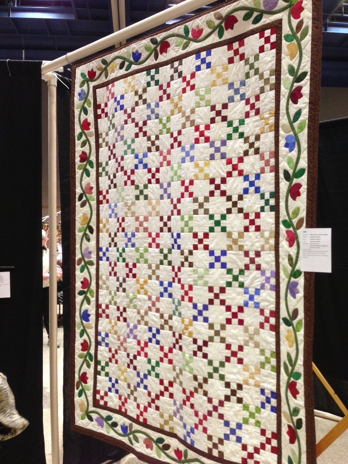 Home is Where the Heart is: ~Quilt Show & Quilt Rack~