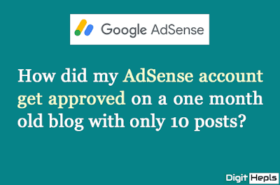 How to get approved an AdSense account quickly
