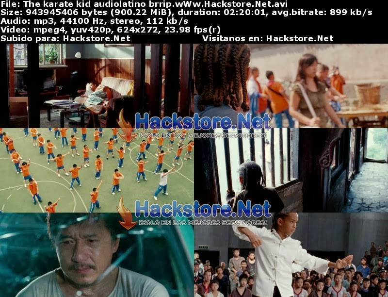 Captura Karate Kid (2010) DVDRip Latino