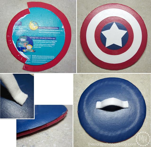 DIY Captain America Shield