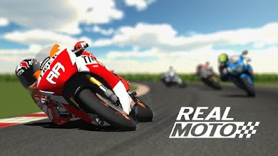 Tampilan Game Real Moto