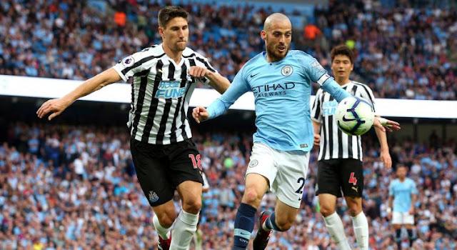 Newcastle vs Man City