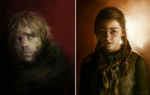 00-Ania Mitura-GoT-Game-of-Thrones-Digital-Paintings-www-designstack-co
