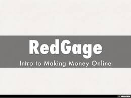 generate money with redgage?