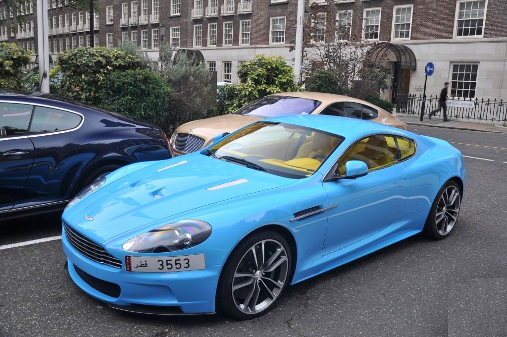 Aston Martin Dbs With Yellow Interior Is Not Pretty