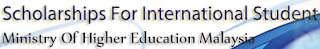 Scholarships for International Students by Ministry of Higher Education Malaysia