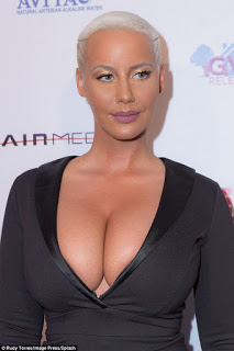Amber Rose says the secret to her radiant glowing skin is masturbation