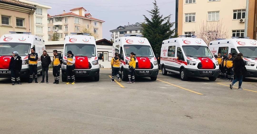 4×4 Ambulans Taşkesti'ye Teslim Edildi