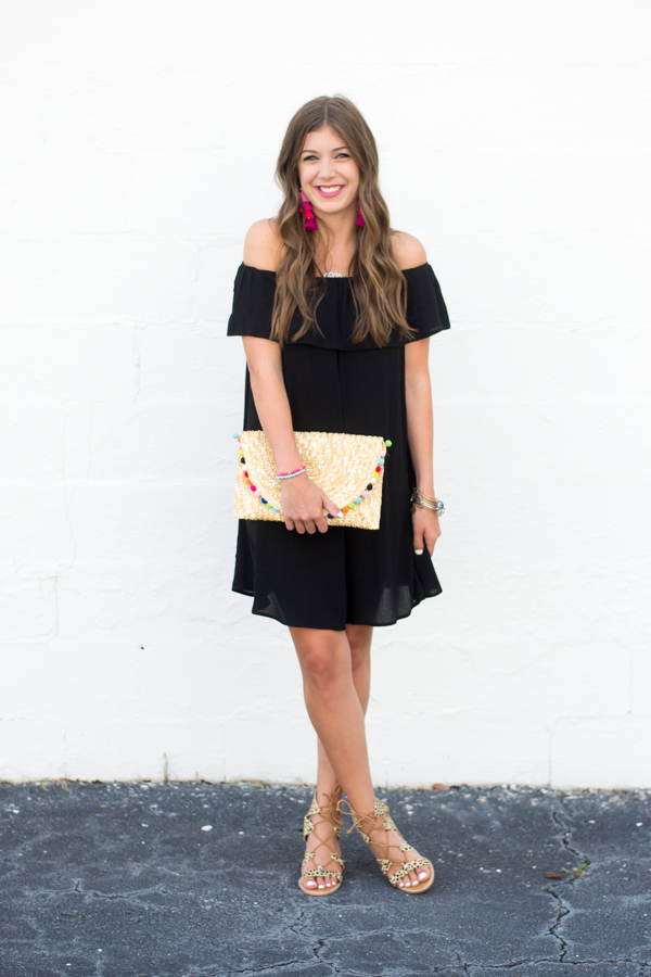 Spicing Up The Little Black Dress by Charleston fashion blogger Kelsey of Chasing Cinderella