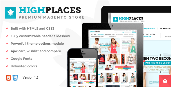 Responsie eCommerce Clothes shop theme