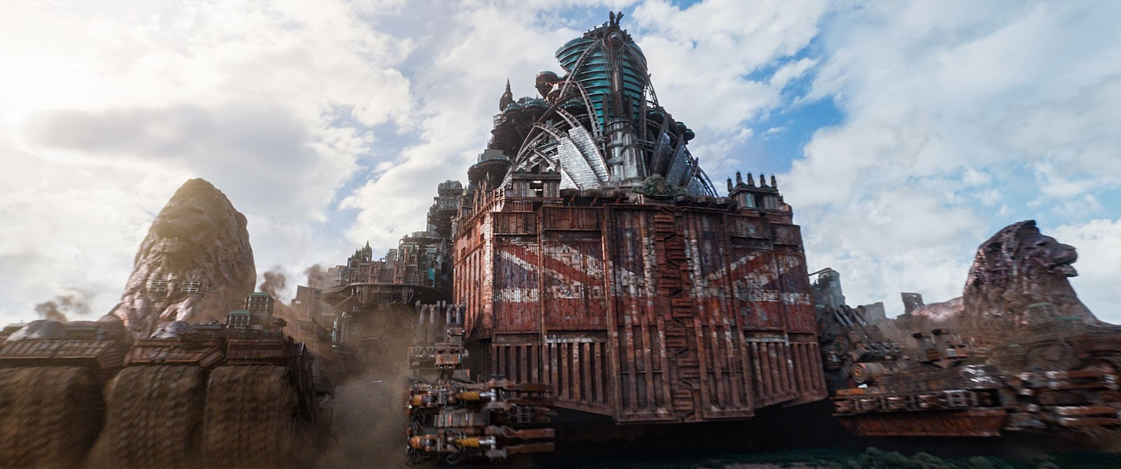 Хроники хищных городов или Mortal Engines