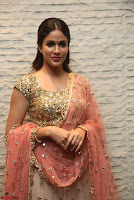 Lavanya Tripathi Mesmerizing Beauty in Chania Choli At Vunnadi Okate Zindagi Movie ~  Exclusive 012.jpg