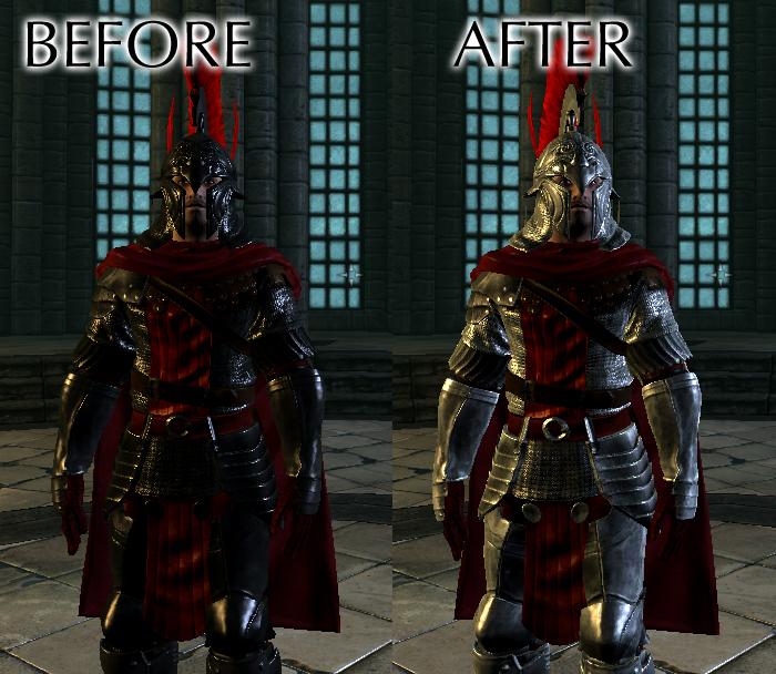 Dodatek do skyrim armor mods