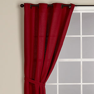 World Market Red Harper Curtain Part 82