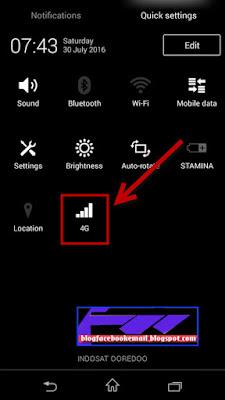 cara agar internet 4G bisa aktif