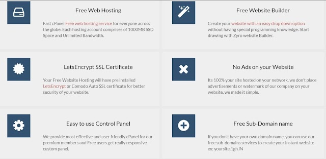 Free Web Hosting In India for Small Business