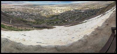 "Top Of the ""Y"" on ""Y"" Trail Provo Utah BYU"