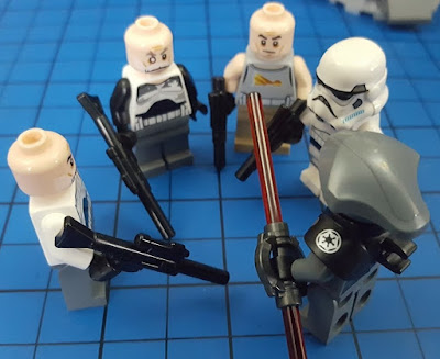 The Brick Castle: LEGO Star Wars Captain Rex's AT-TE set 75157 Review