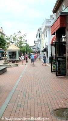 Washington Street Mall in Cape May New Jersey