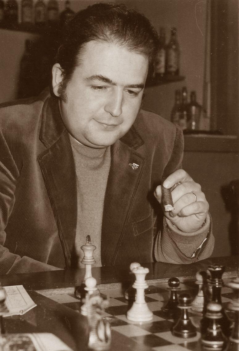 El ajedrecista Lucien Francino Vallet