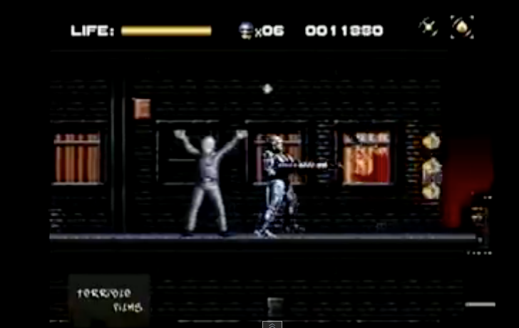 Robocop vs terminator video game