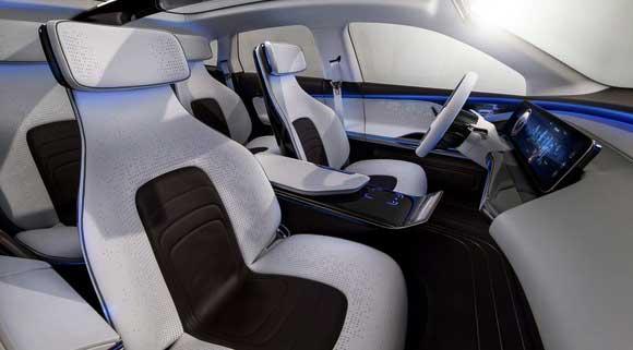 Next-gen Mercedes-Benz EQ concept SUV