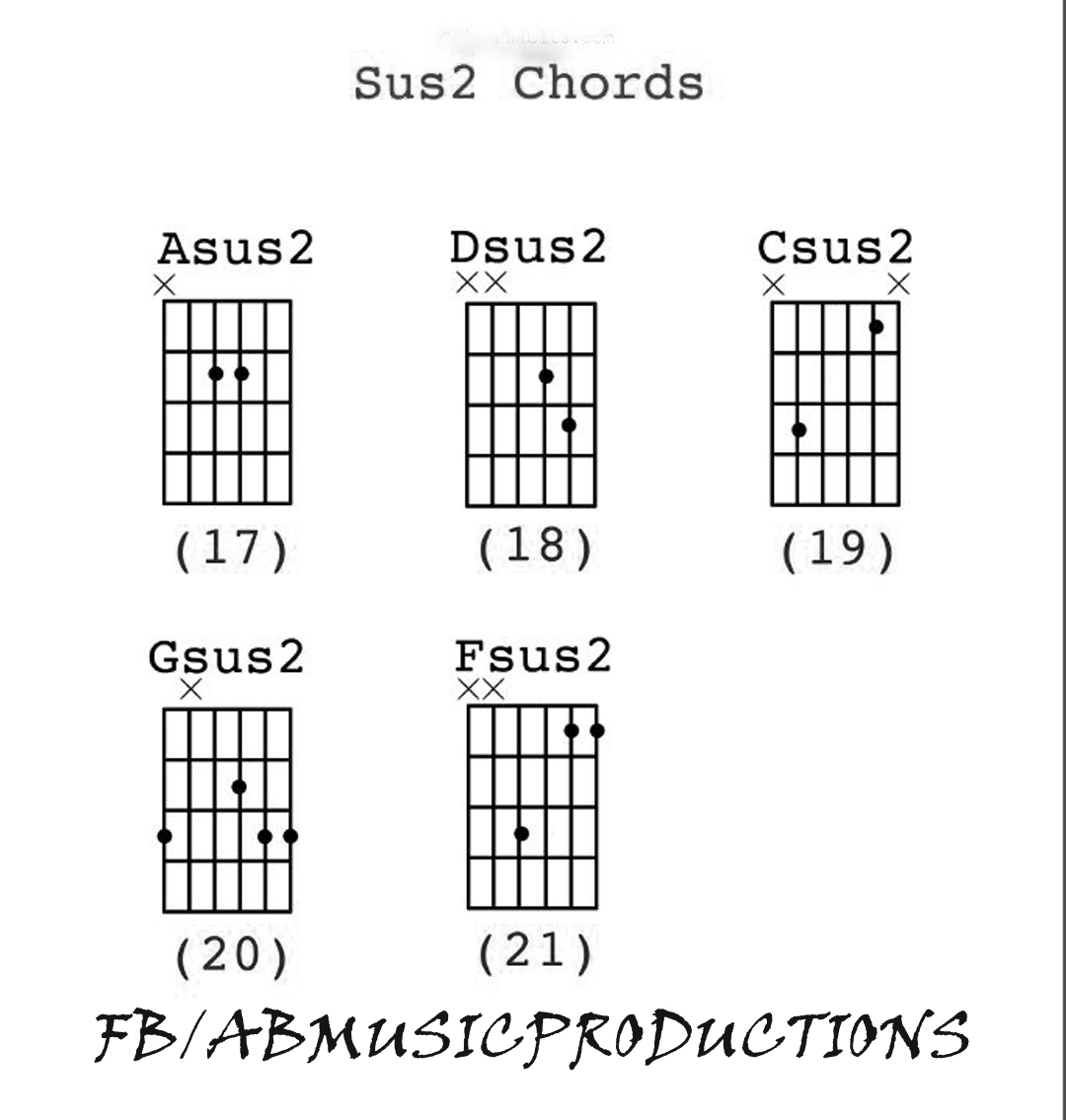Ab music productions suspended 2 chords also known as sus2 chord hexwebz Image collections
