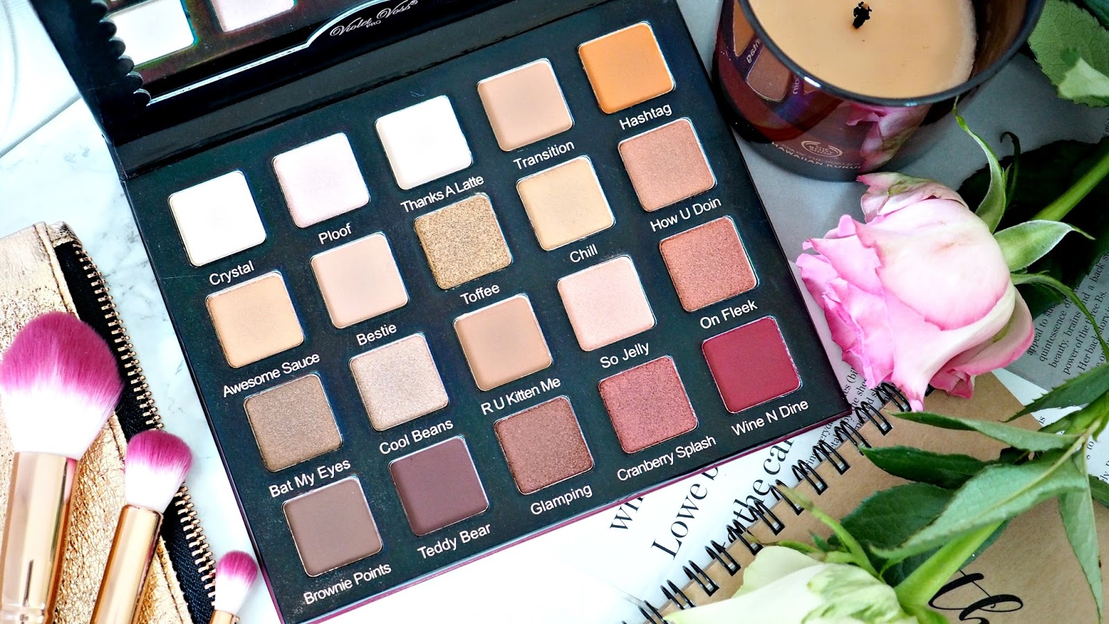Violet Voss Holy Grail palette Review and Swatches