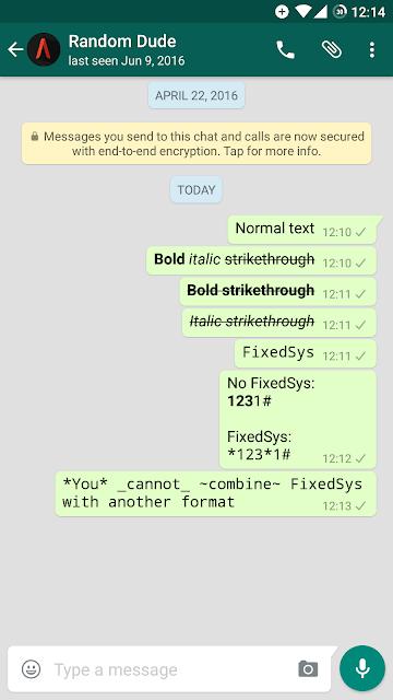 Cara Membuat Tulisan Berbeda-beda di WhatsApp