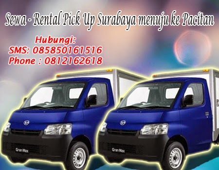 Sewa-Rental Pick Up Surabaya menuju ke Pacitan