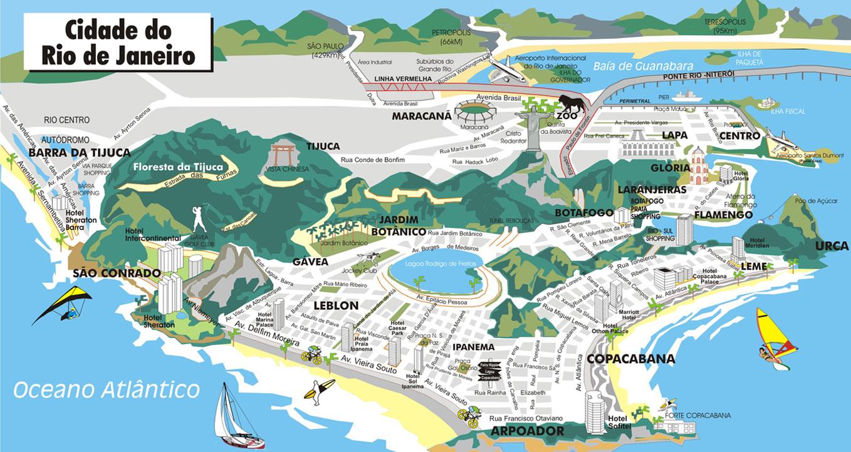 rio janeiro mapa Mapas do Rio de Janeiro   RJ | MapasBlog rio janeiro mapa