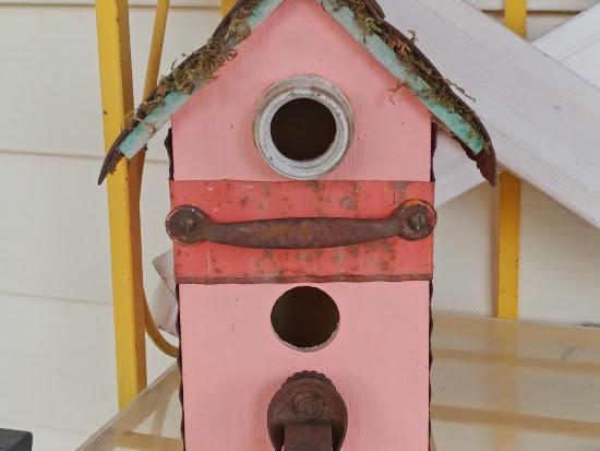 Junk Style Birdhouses