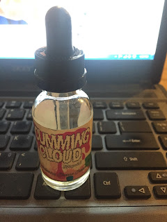 Review Liquid Cumming Cloud Strawberry Cheese Cake