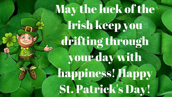 Birthday wishes on St Patricks day 2018