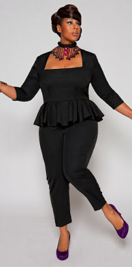 enterizo plus size
