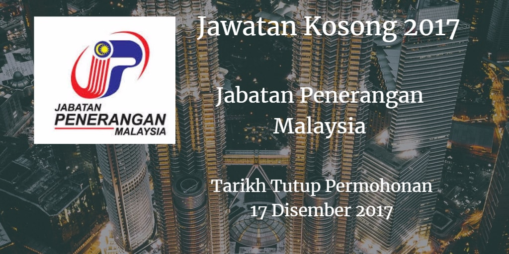Jawatan Kosong Jabatan Penerangan Malaysia 17 Disember 2017