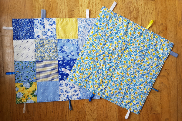 Tag blankets | DevotedQuilter.blogspot.com