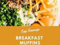 Egg Sausage Breakfast Muffins