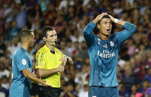 Berulah, Ronaldo Dihukum Larangan Bermain 5 Pertandingan