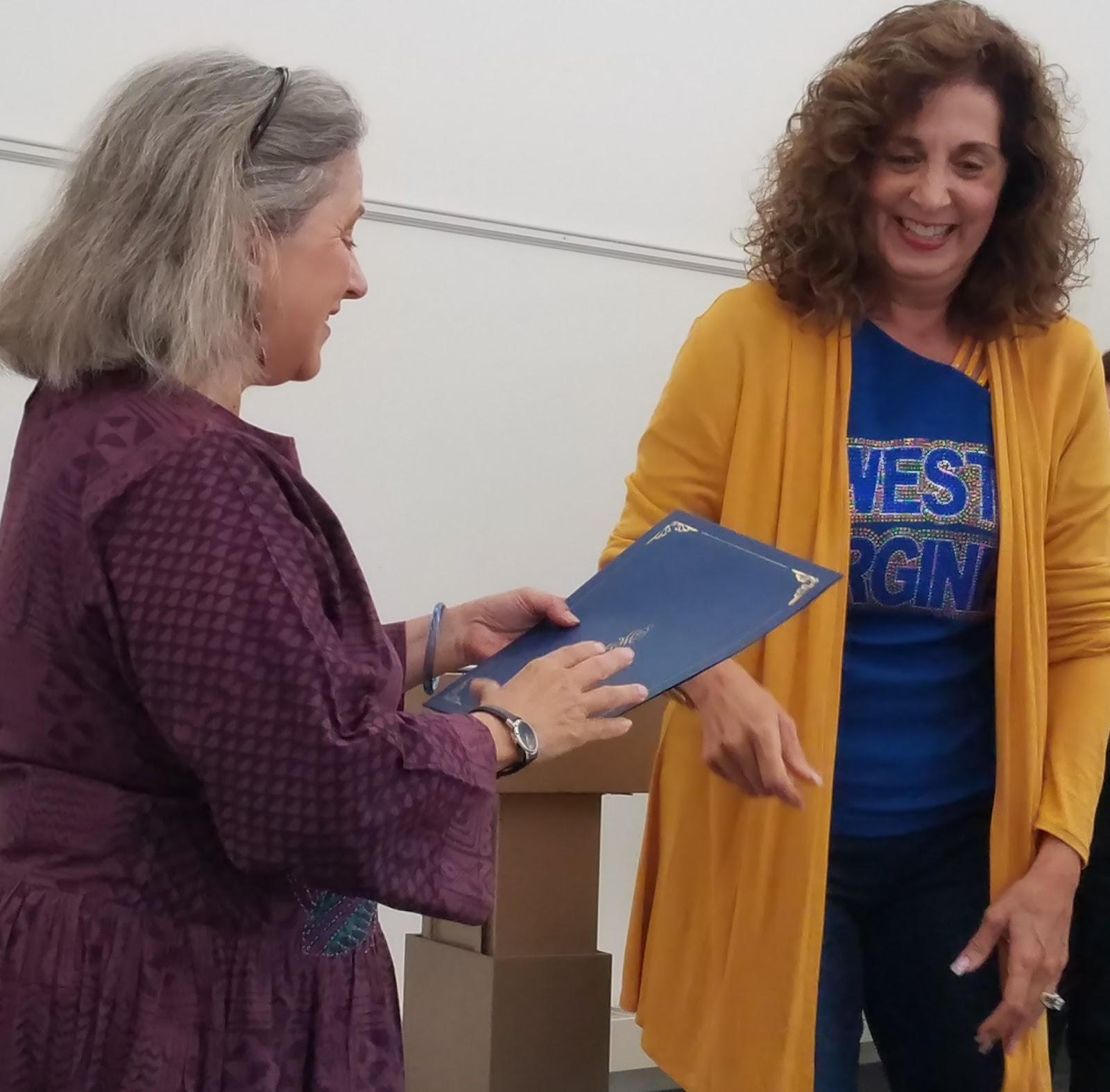 Meredith Sue Willis: September 2018