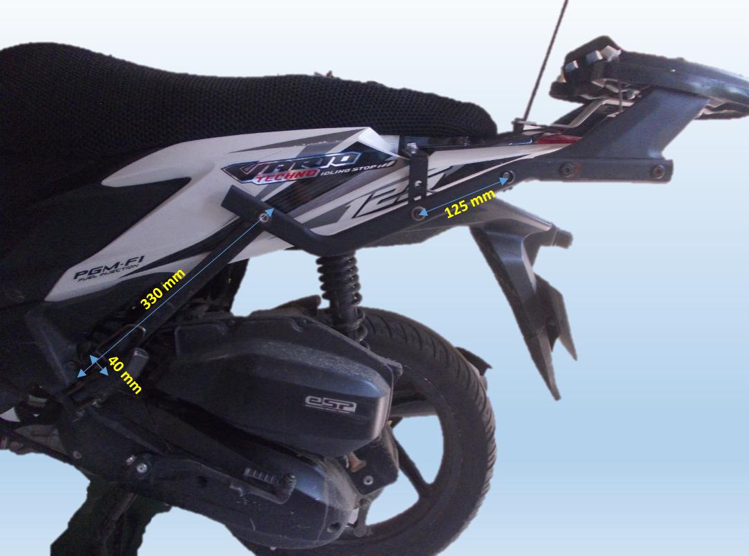 Koleksi 98 Modifikasi Stang Motor Vario Terbaru Motor Punk